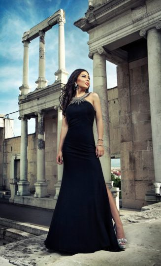 Prom Photo Shoot – Maria at Plovdiv Roman Theater
