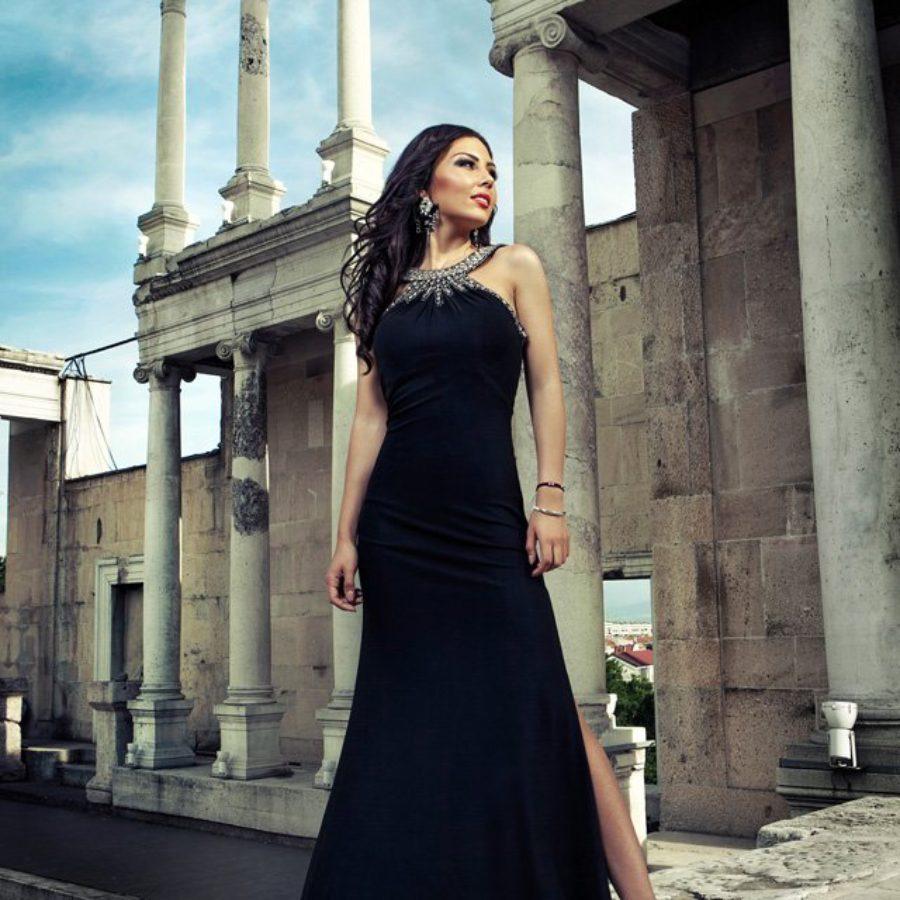 Prom Photo Shoot – Maria at Plovdiv Roman Theater